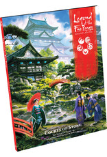 Fantasy Flight Games Legend of the Five Rings RPG: Courts of Stone Hardcover
