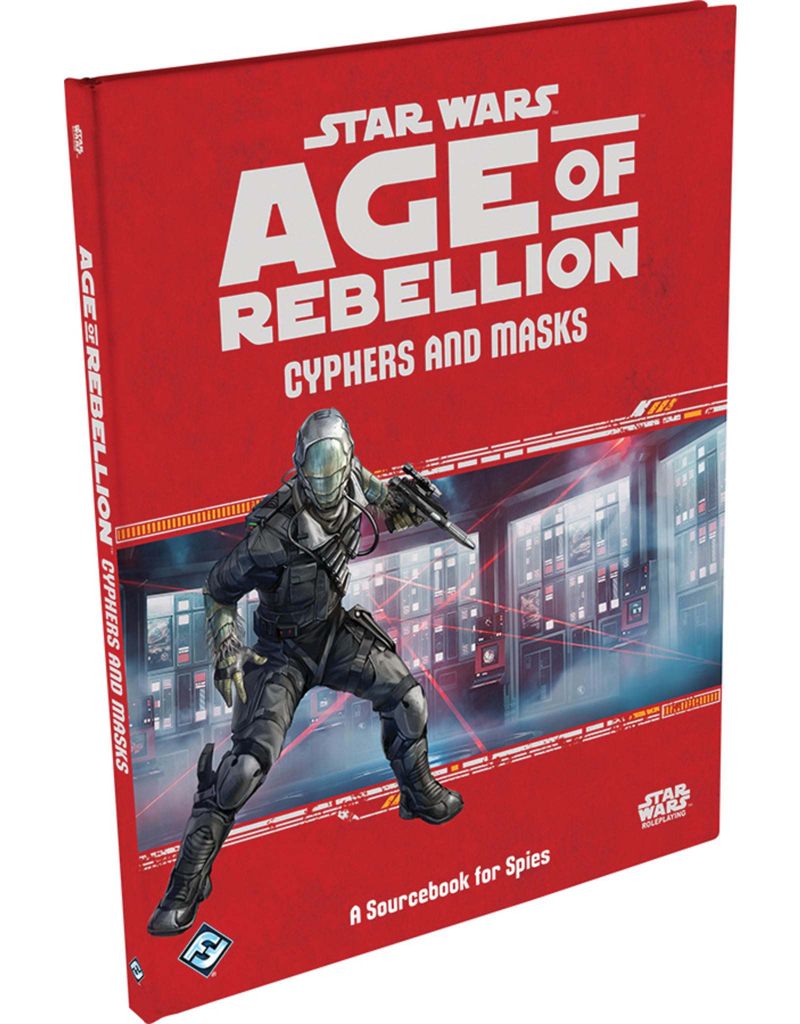 Fantasy Flight Games Star Wars RPG: Age of Rebellion - Cyphers and Masks Hardcover