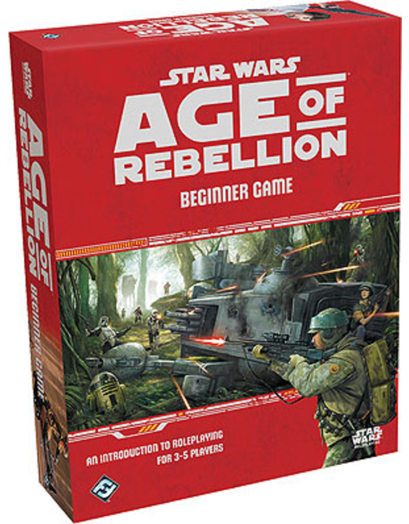 Role Playing Star Wars: Age of Rebellion Beginner Game