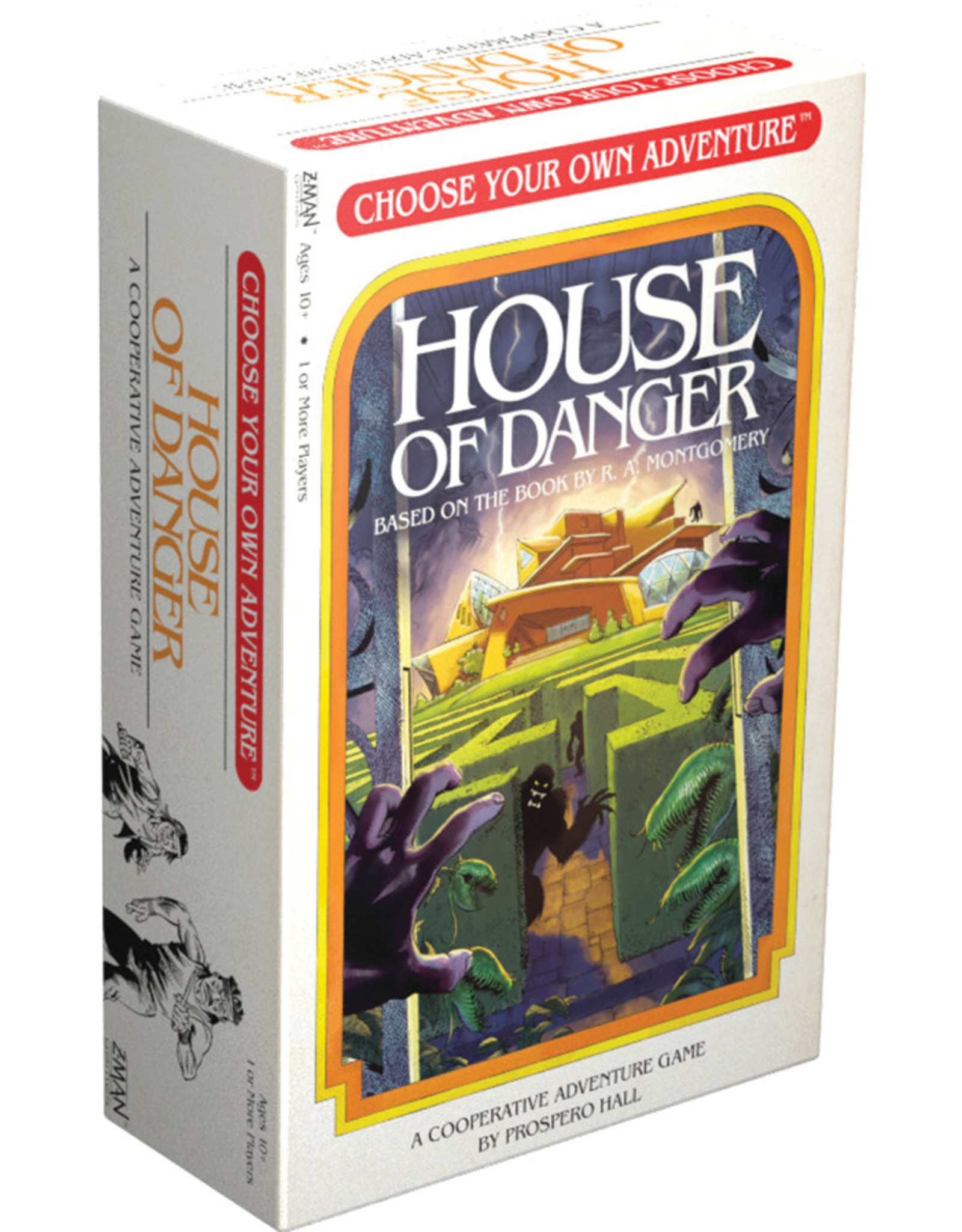 Z-Man Games Choose Your Own Adventure House of Danger