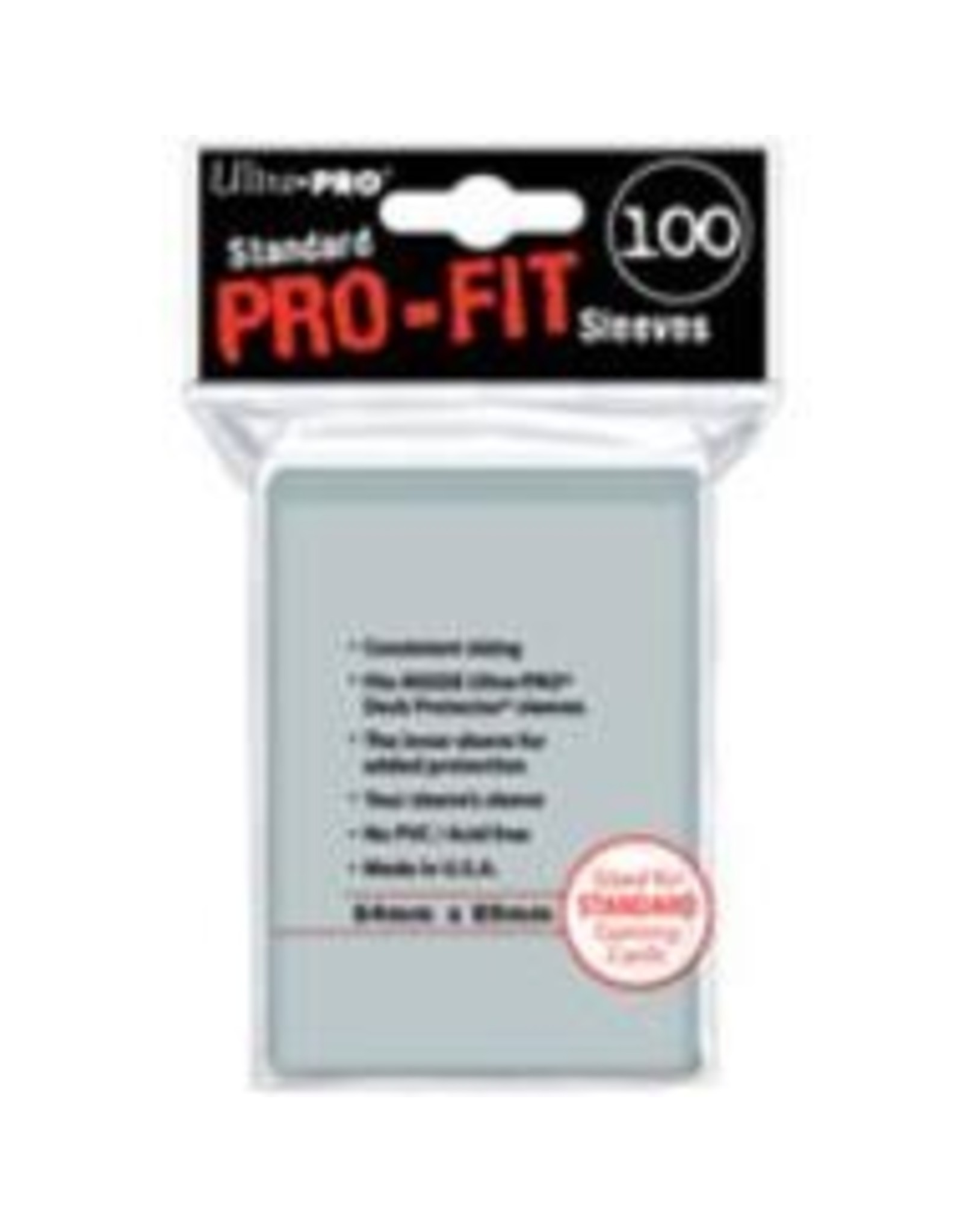 Ultra Pro Pro-Fit Sleeves (clear)