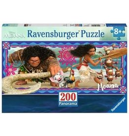 Ravensburger Disney-Moana's Adventure (200pc Panorama Puzzle)