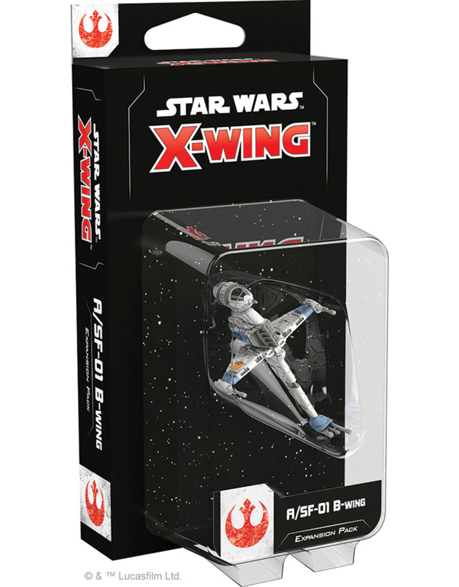 Atomic Mass Games Star Wars X-Wing: 2nd Edition - A/SF-01 B-Wing Expansion Pack