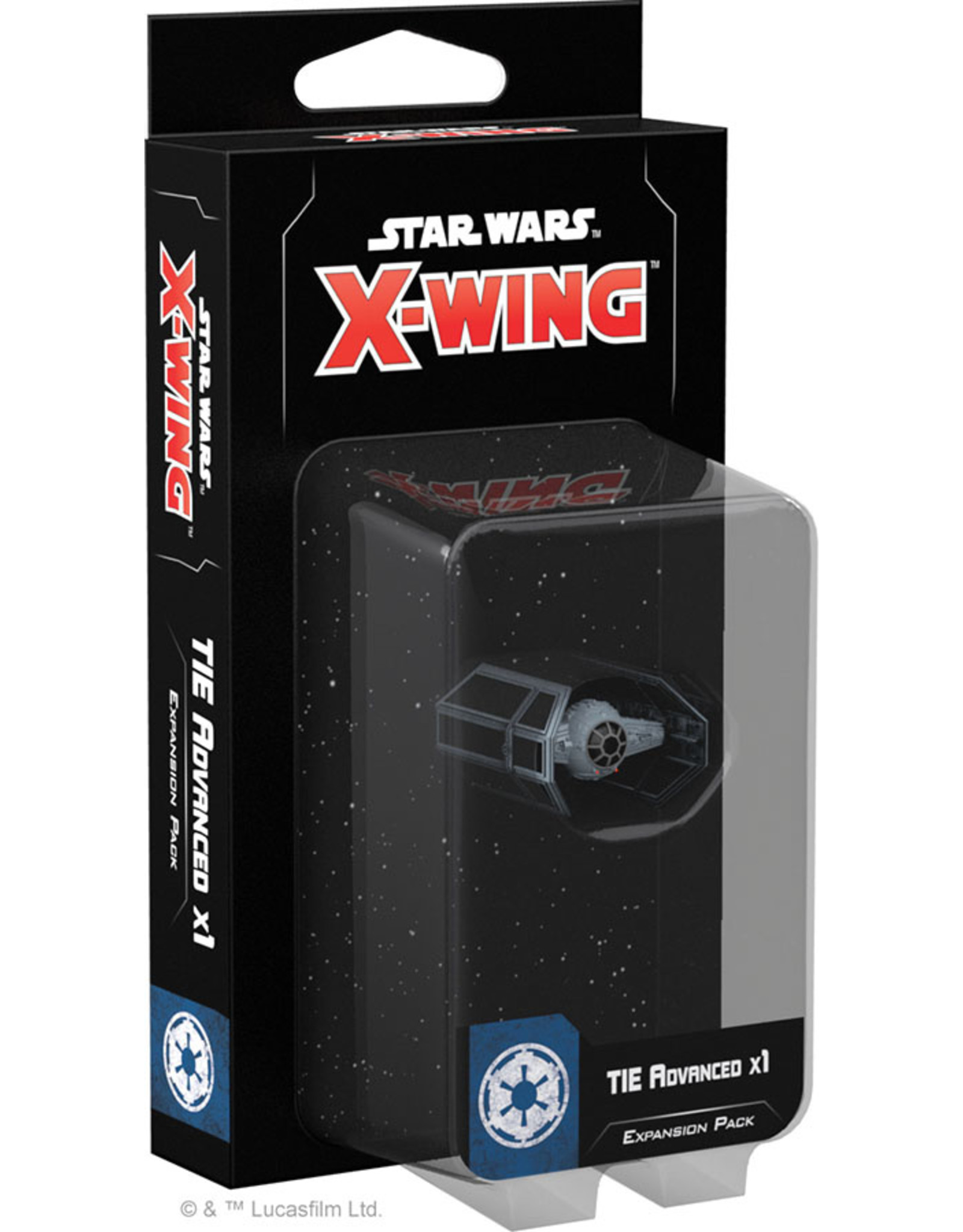 Fantasy Flight Games Star Wars X-Wing: 2nd Edition - Tie Advanced x1 Expansion