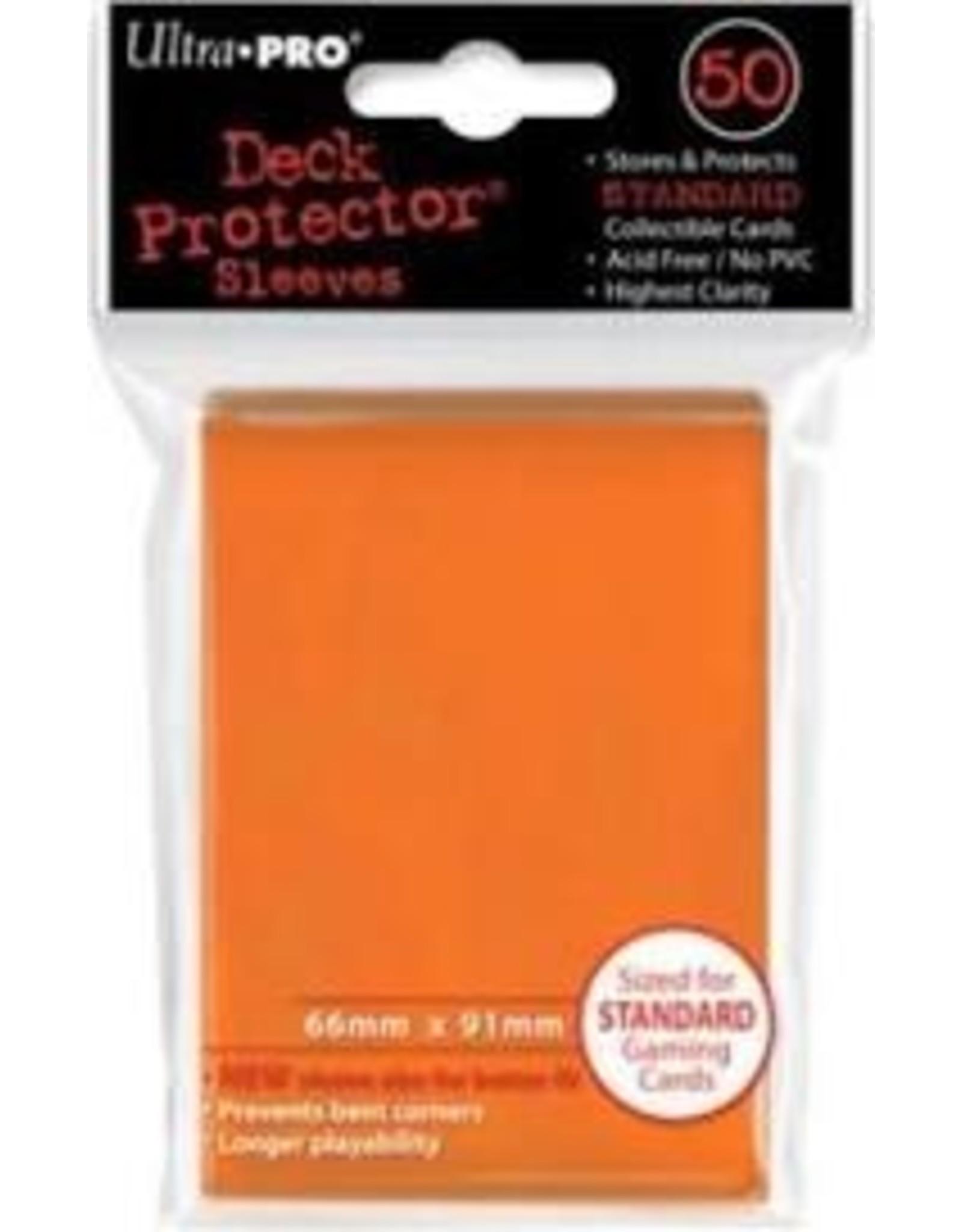 Ultra Pro Orange Sleeves 50ct