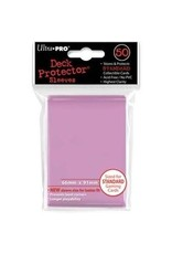 Ultra Pro Solid Pink 50 Ct