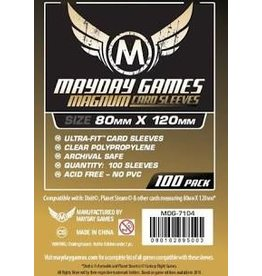 Mayday Games Magnum Gold Sleeve (100)