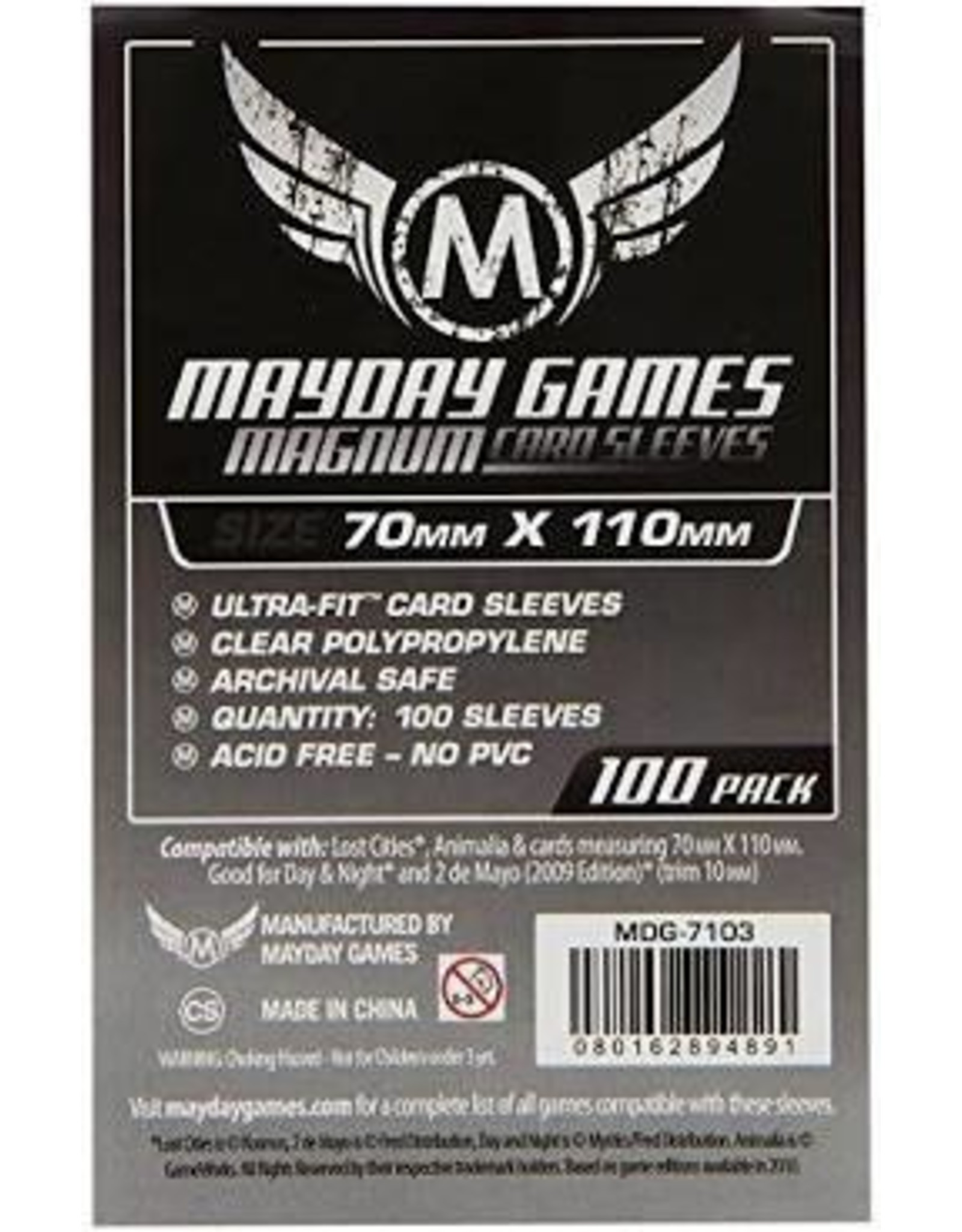 Mayday Games Lost Cities Card Sleeves