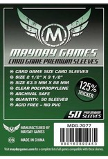 Mayday Games Premium Dark Green Card Sleeves 63.5 X 88 MM (50)