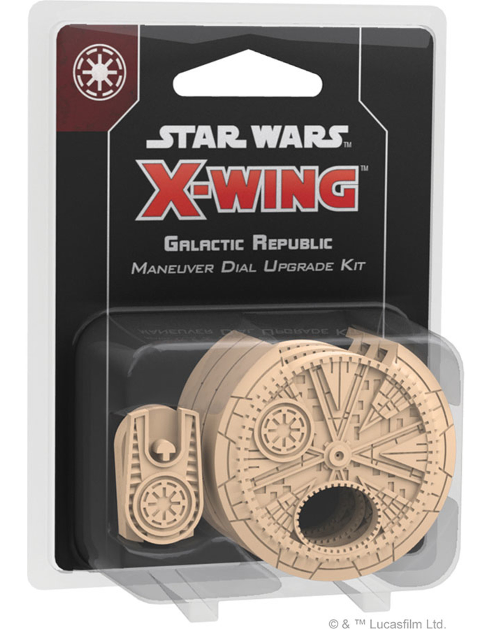 Fantasy Flight Games Star Wars X-Wing 2nd Edition - Galactic Republic Maneuver Dial Upgrade Kit