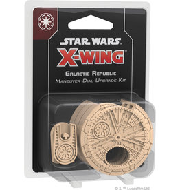 Fantasy Flight Games Star Wars X-Wing 2nd Edition - Galactic Republic Maneuver Dial Upgrade Kit
