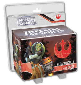 Fantasy Flight Games Star Wars Imperial Assault: Hera Syndulla and C1-10P Ally Pack