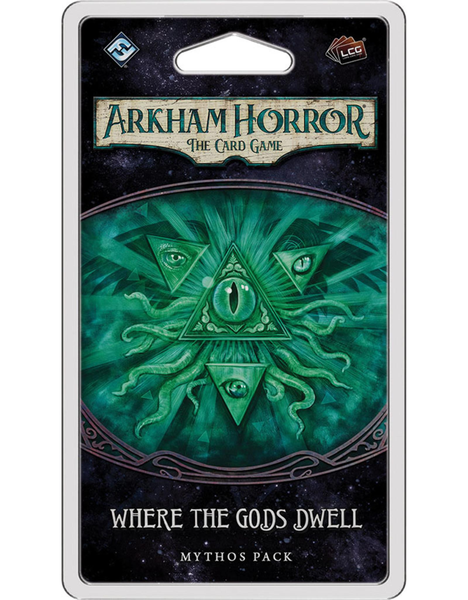 Fantasy Flight Games Arkham Horror LCG: Where the Gods Dwell Mythos Pack