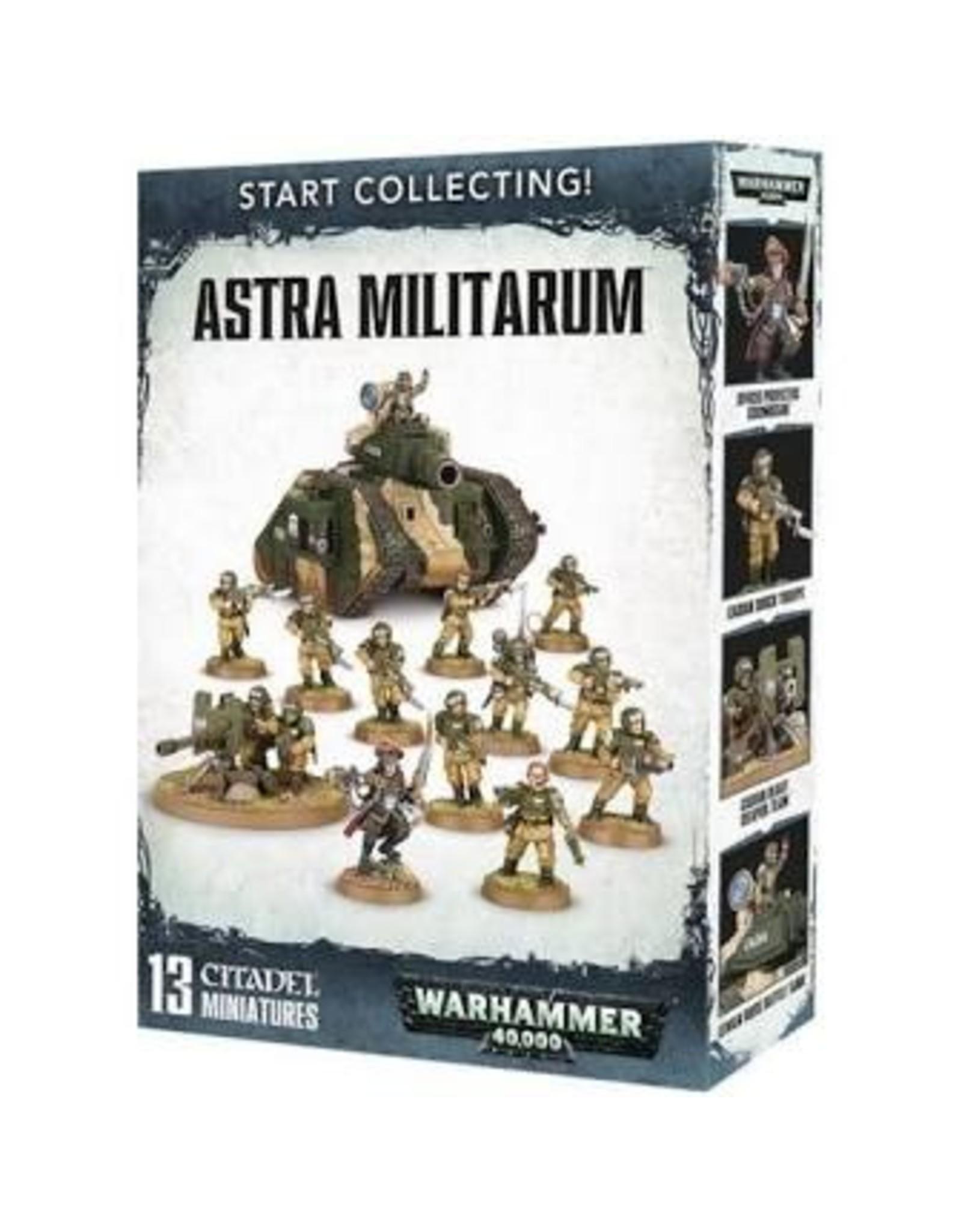 Warhammer 40K Start Collecting! Astra Militarium