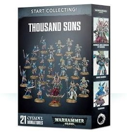 Warhammer 40K Start Collecting! Thousand Sons (Chaos)