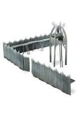Tactical Miniature Games Rohan Watchtower and Palisades