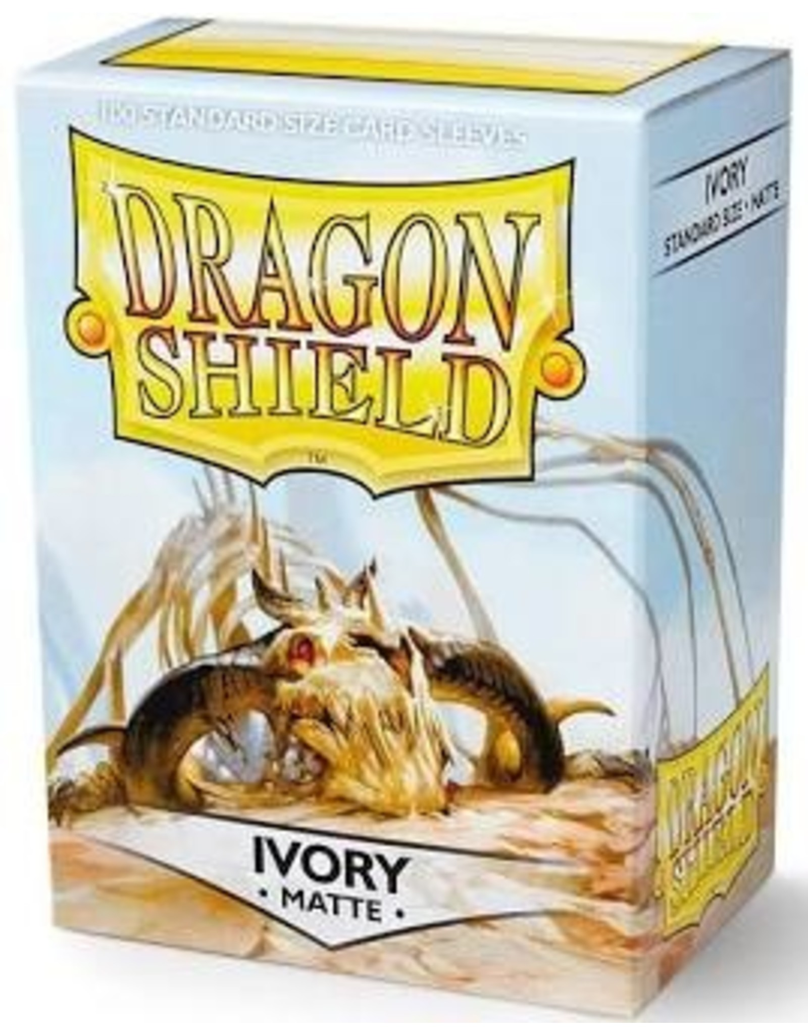 Dragon Shield: (100) Ivory Matte