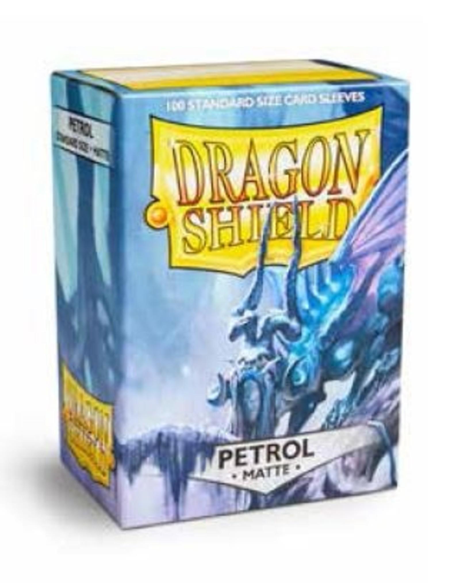 Arcane Legions Dragon Shields: (100) Matte Petrol