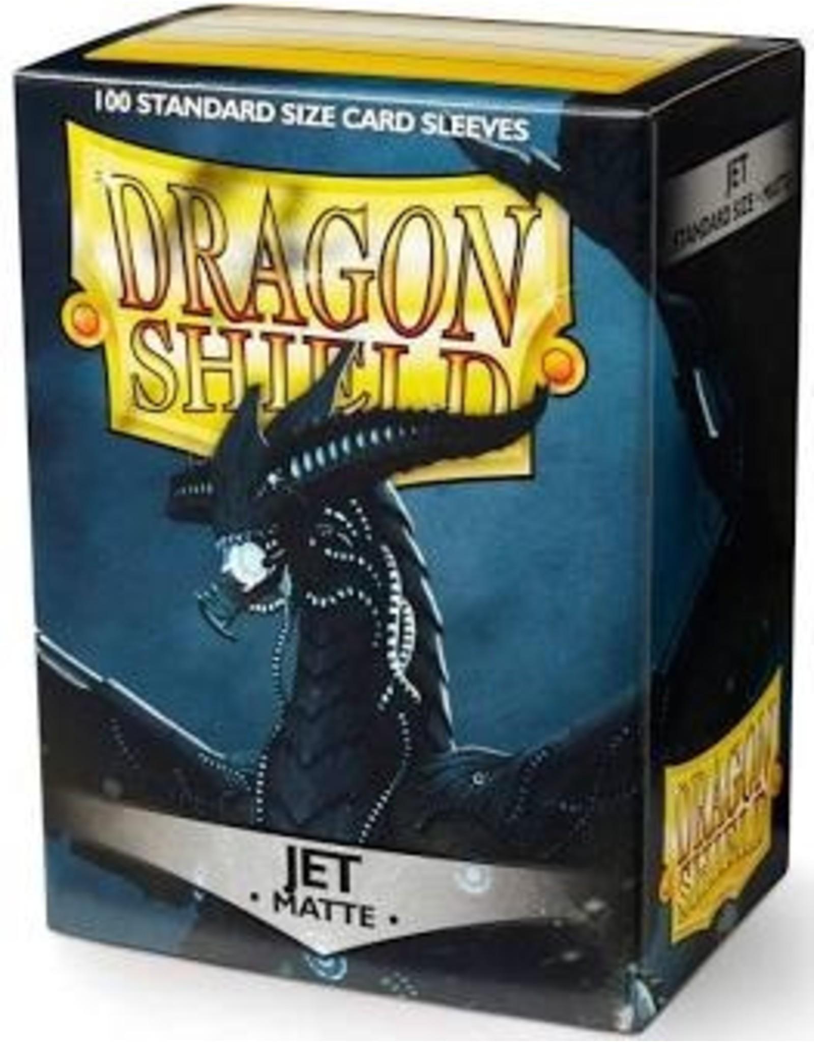 Dragon Shield: (100) Matte Jet