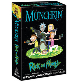 The OP Munchkin Rick and Morty