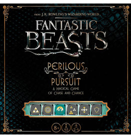 USAopoly Fantastic Beasts Perilous Pursuit Dice Game