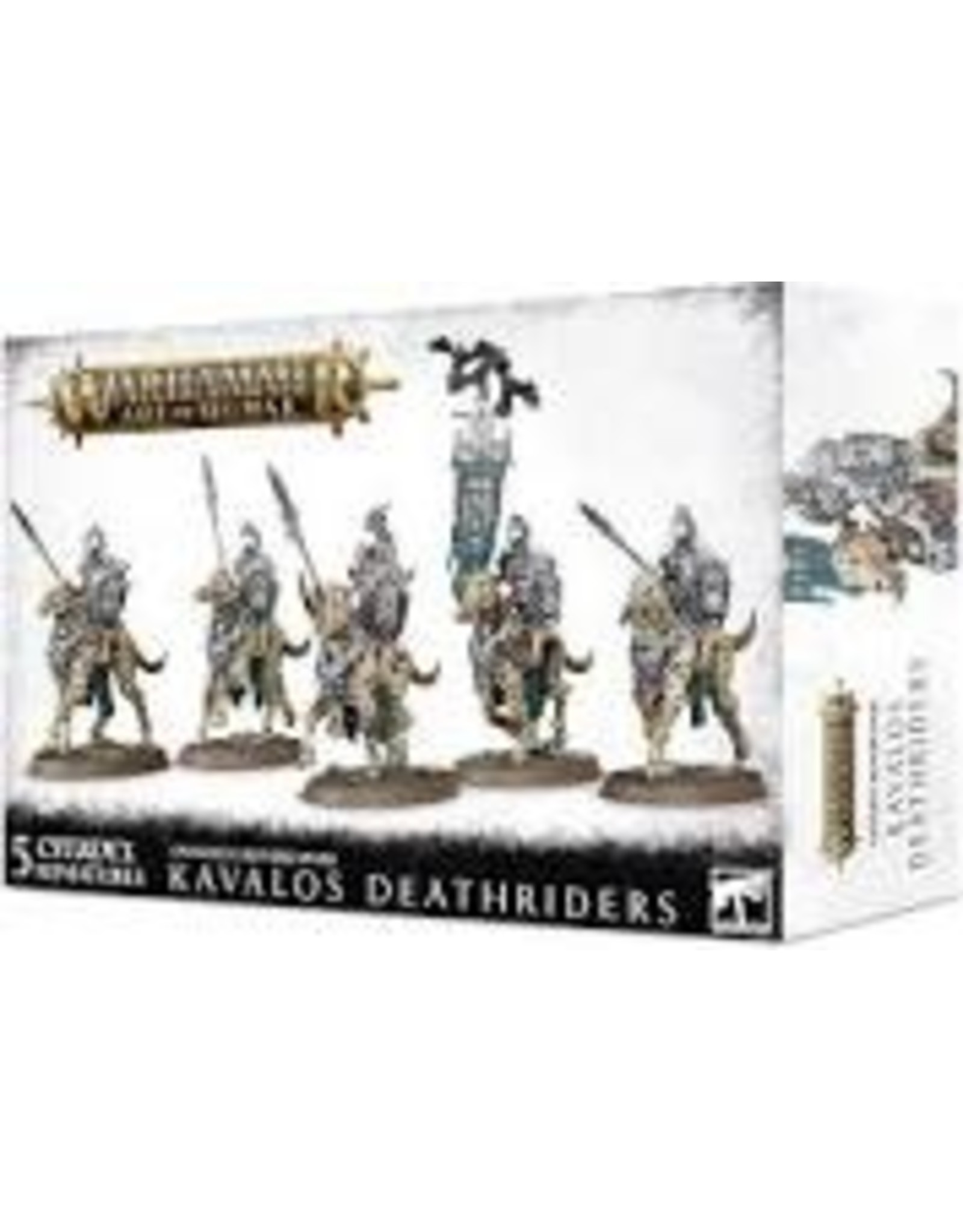 Age of Sigmar Ossiarch Bonereapers Kavalos Deathr