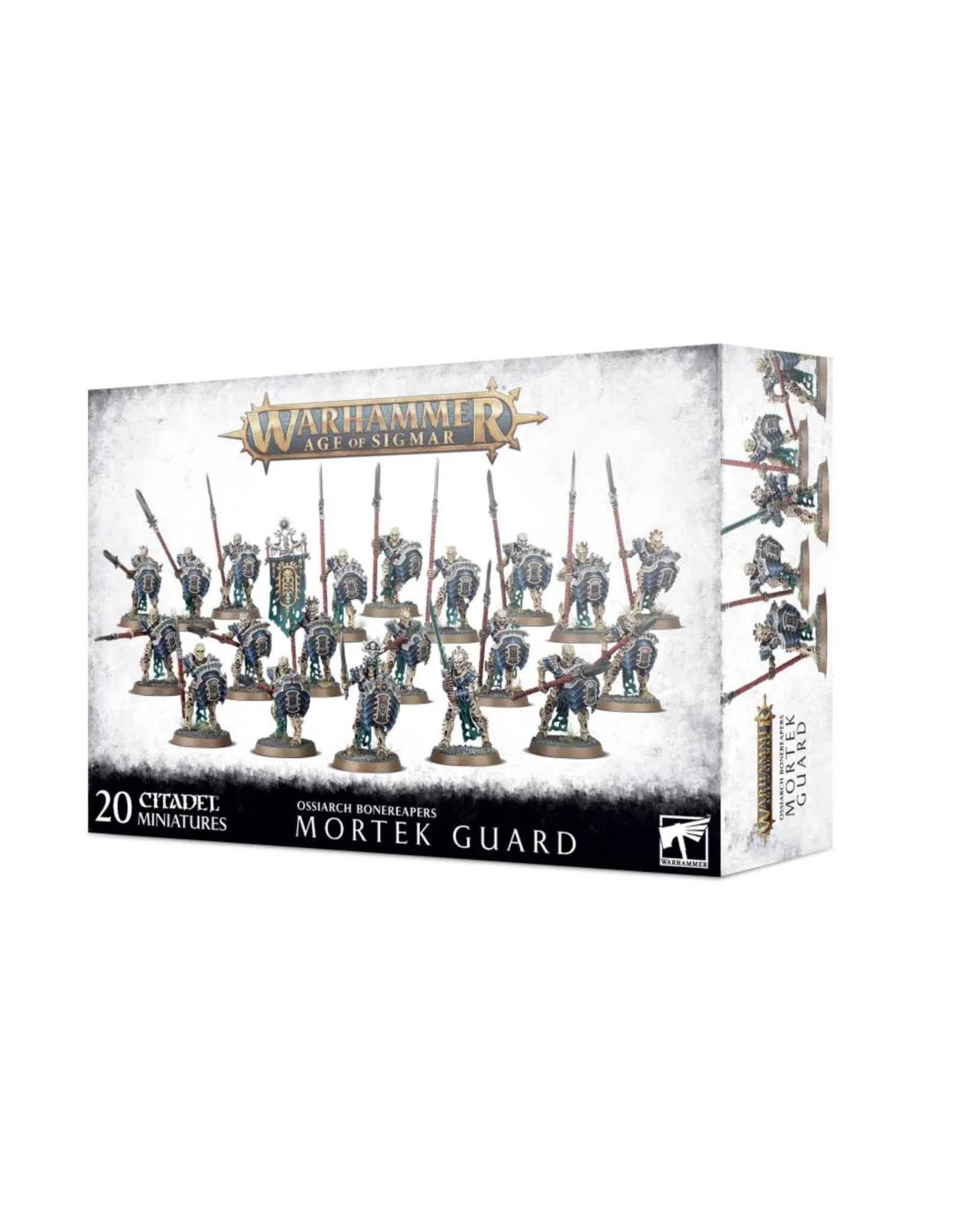 Age of Sigmar Ossiarch Bonereapers Mortek Guard