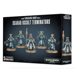 Warhammer 40K Chaos: Thousand Sons Scarab Occult Terminators