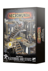 Tactical Miniature Games Zone Mortalis: Platforms & Stairs