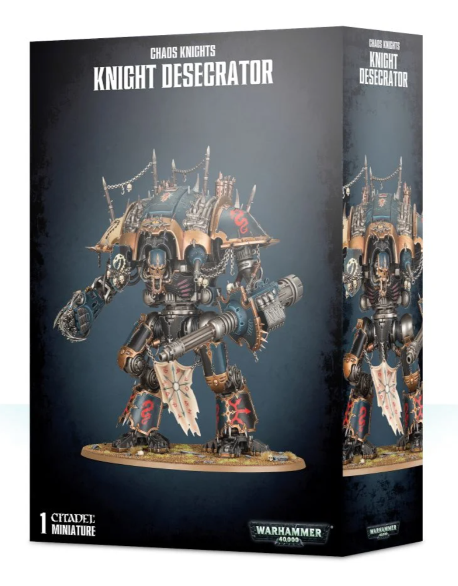 Warhammer 40K Chaos Knights: Knight Desecrator