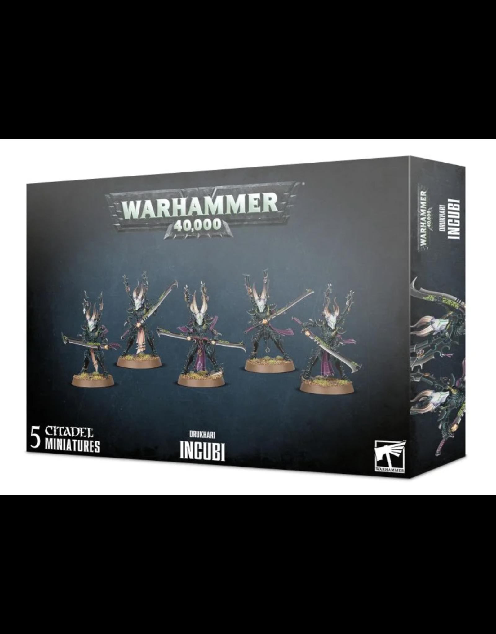Warhammer 40K Drukhari Incubi