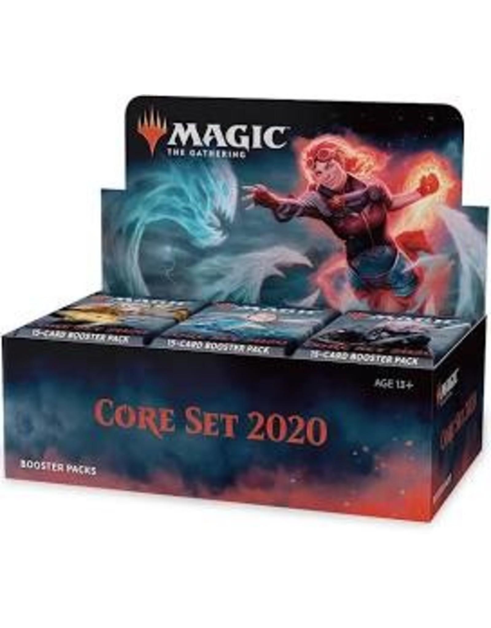 Magic MTG: Core Set 2020 Booster Display