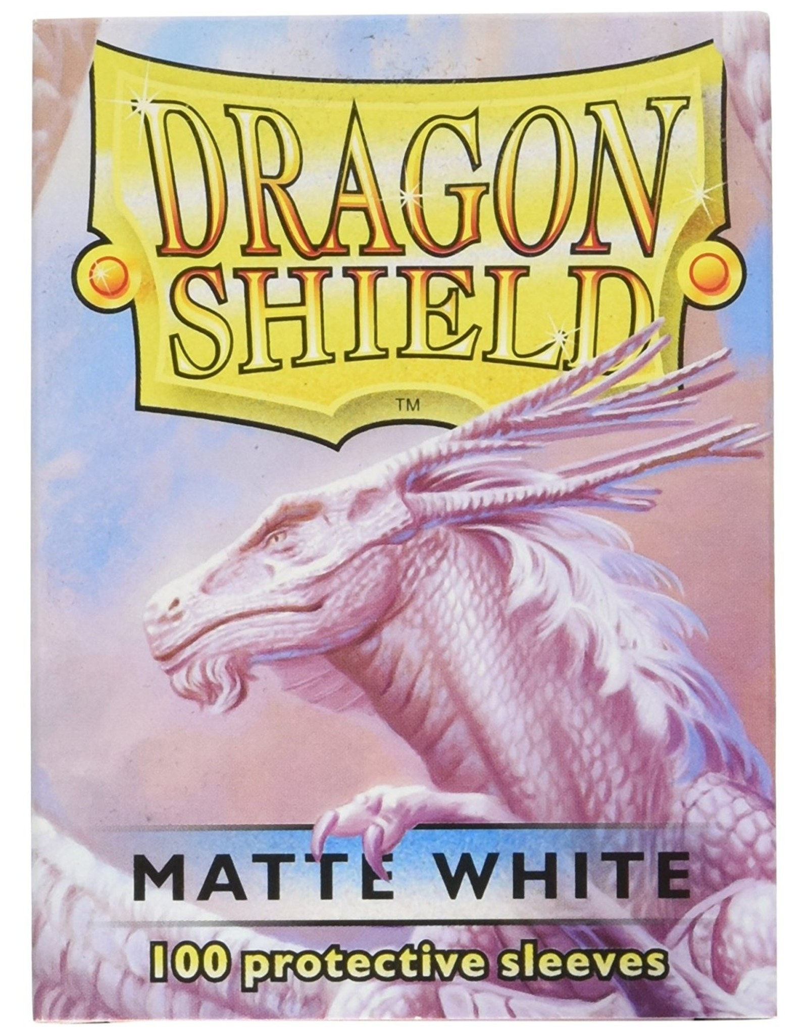 Dragon Shield: (100) Matte White