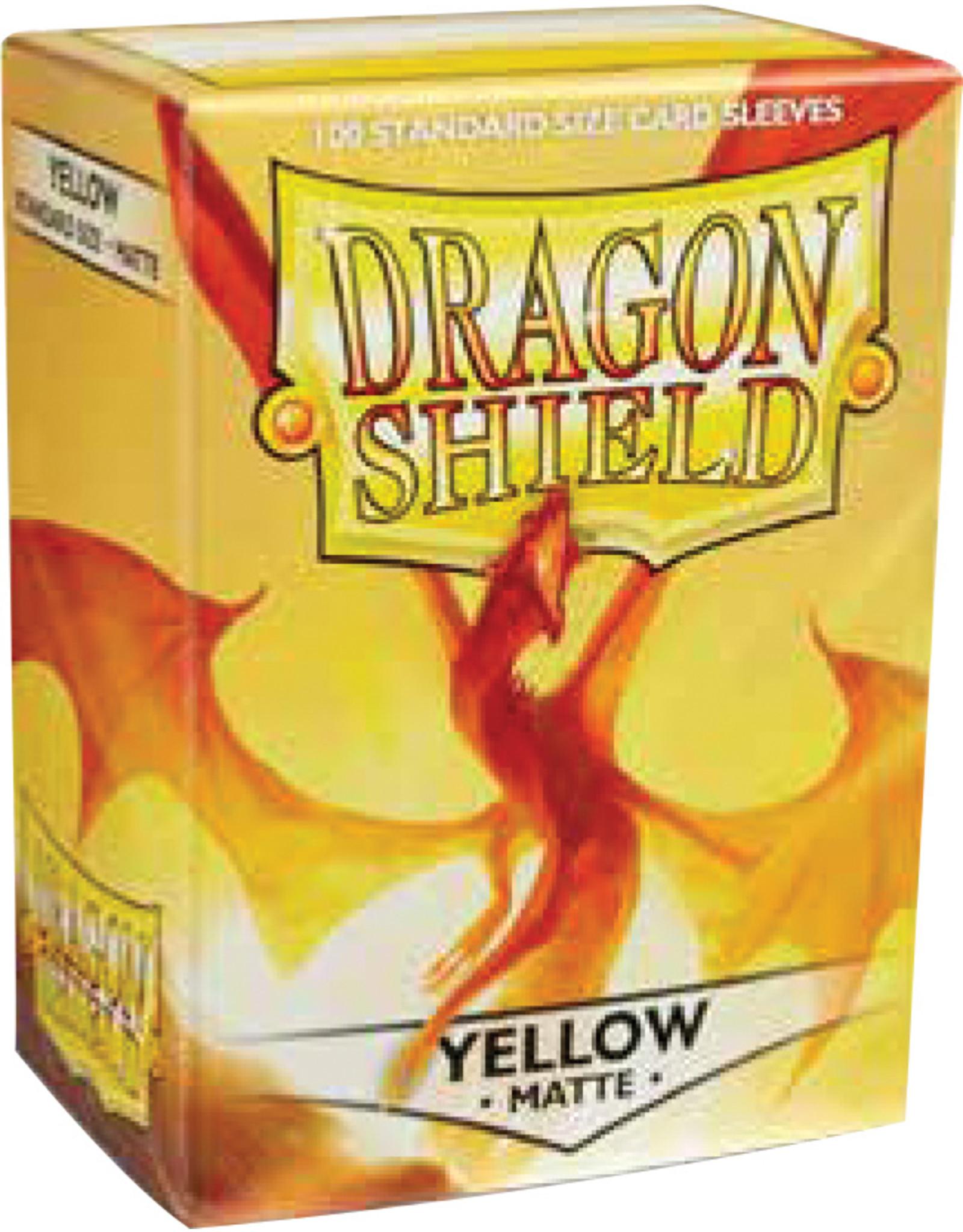Fantasy Flight Games Dragon Shield: (100) Matte Yellow