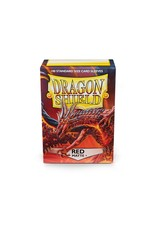 Dragon Shield: (100) Red Matte