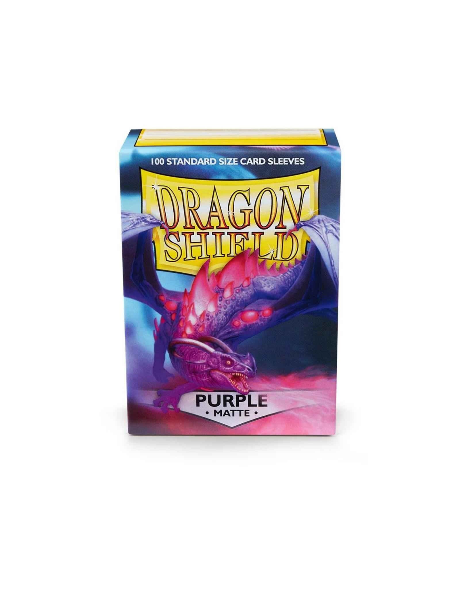 Dragon Shield: (100) Matte Purple