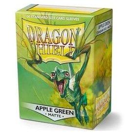 Fantasy Flight Games Dragon Shield: (100) Matte Apple Green