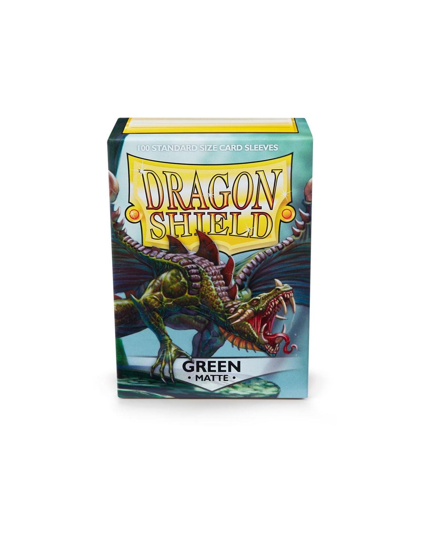 Dragon Shield: (100) Matte Green