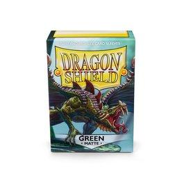 Fantasy Flight Games Dragon Shield: (100) Matte Green