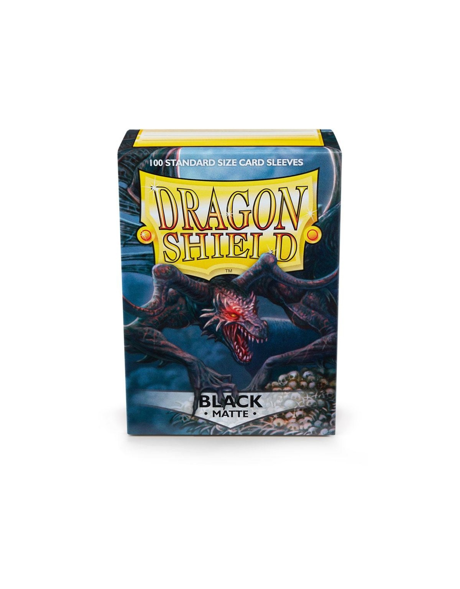 Dragon Shield: (100) Matte Black