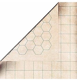 Chessex Reversible Battlemat 1'' sq/hex