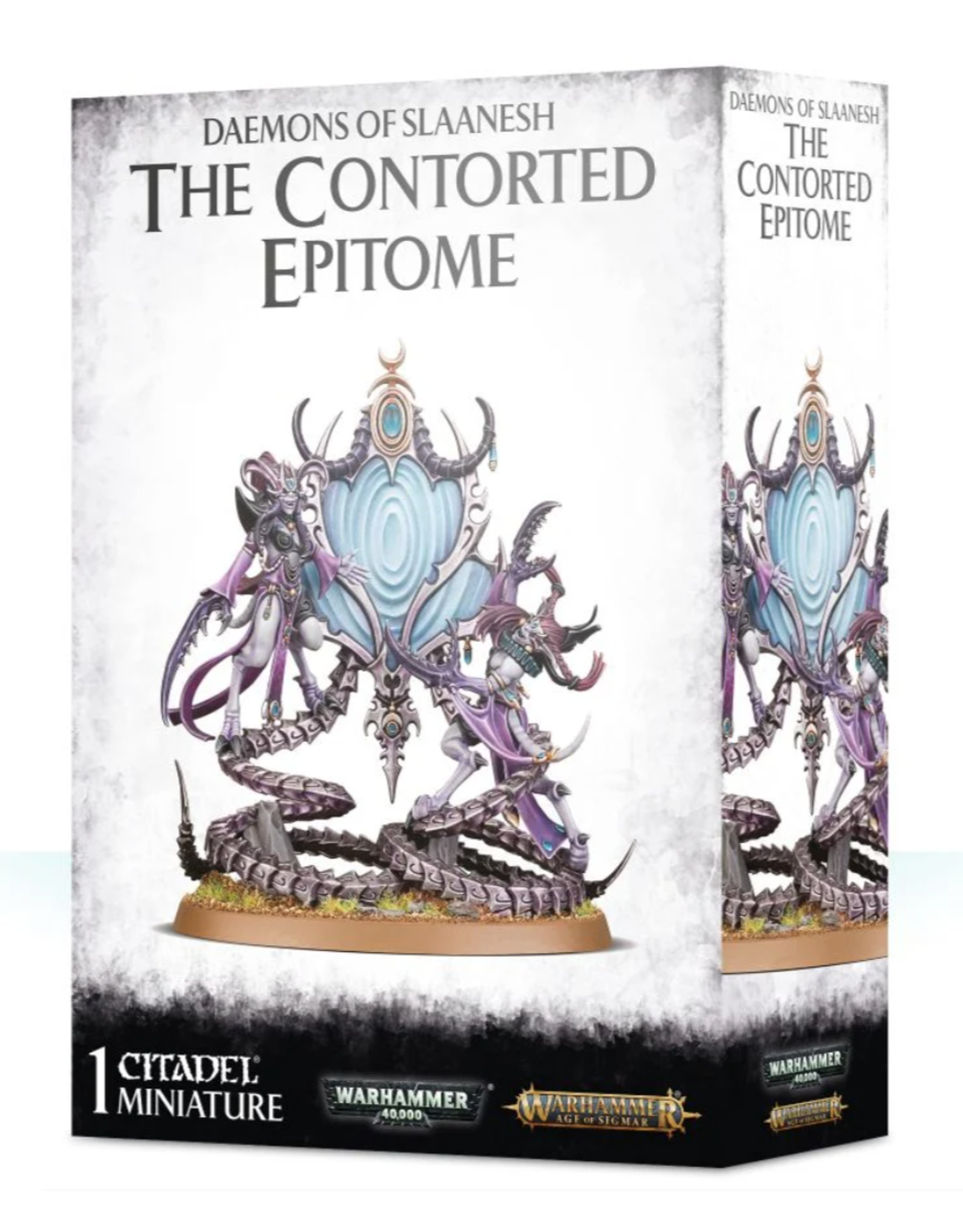 Warhammer 40K Daemons of Slaanesh: The Controrted Epitome