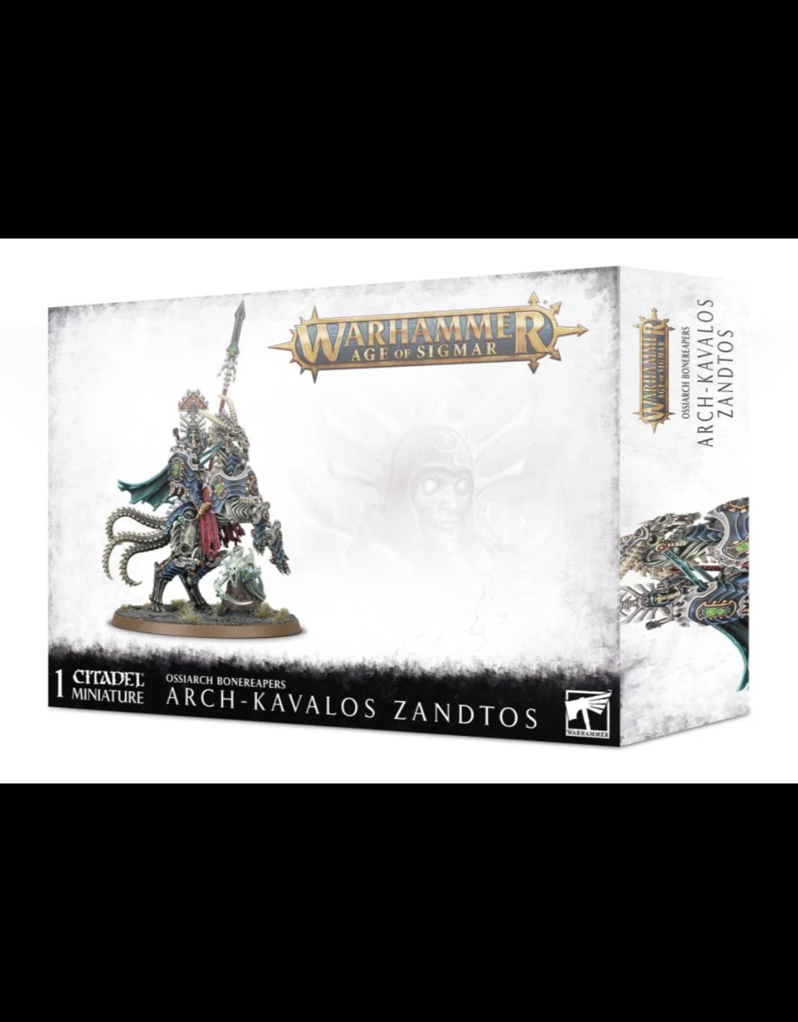 Age of Sigmar Arch-Kavalos Zandtos Dark Lance of