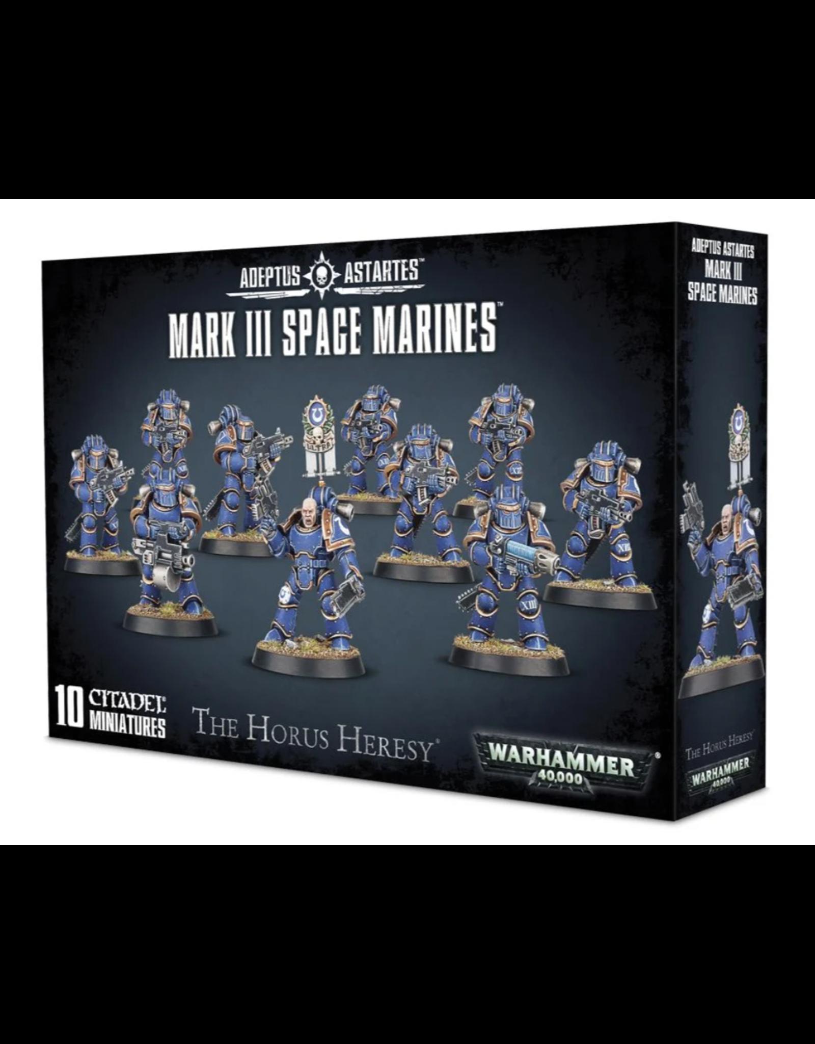 Warhammer 40K The Horus Heresy: Mark III Space Marines