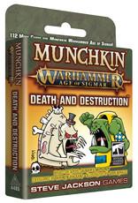 Steve Jackson Games Munchkin: WH: AoS: Death & Destruction