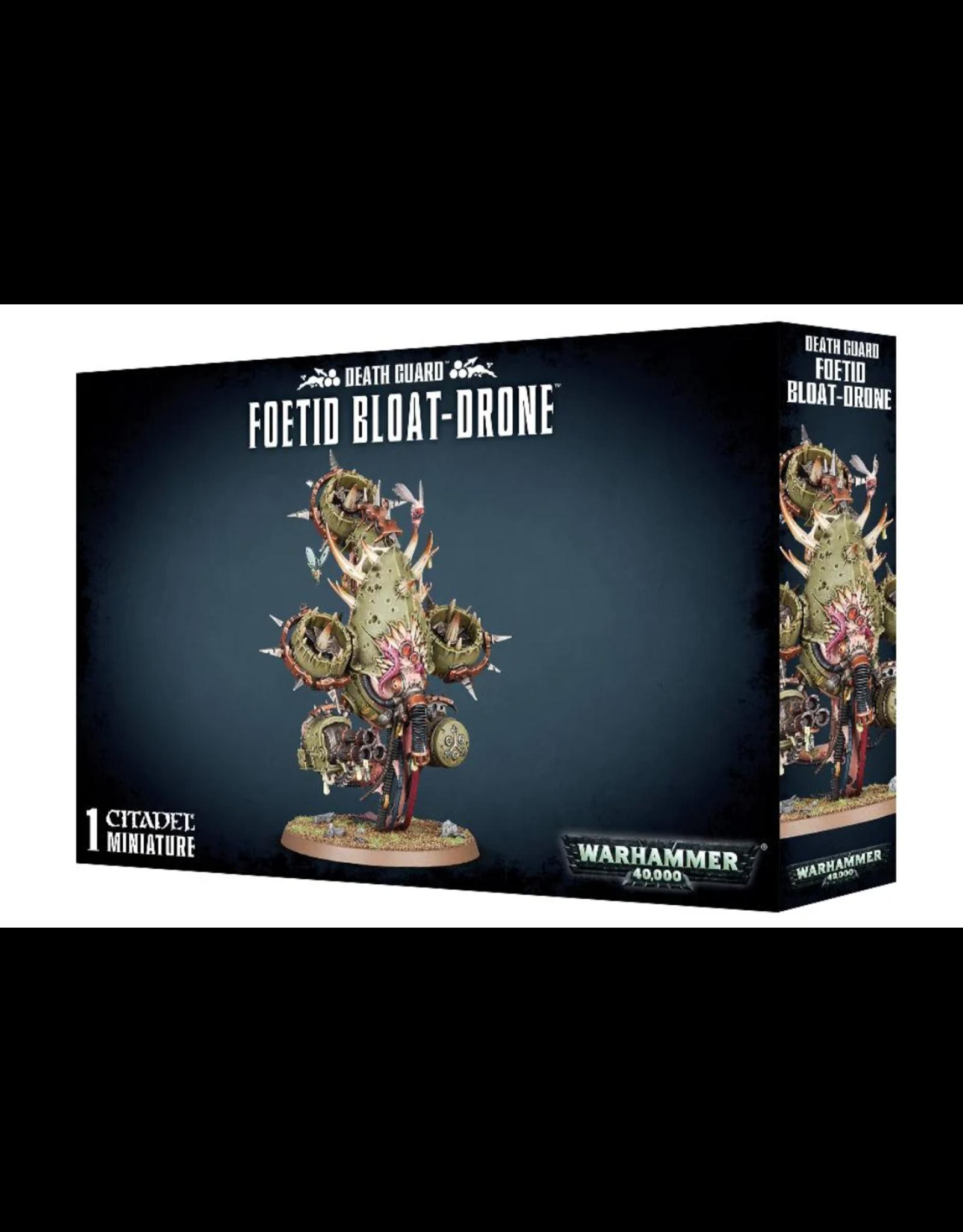 Warhammer 40K Chaos Death Guard: Foetid Bloat-Drone