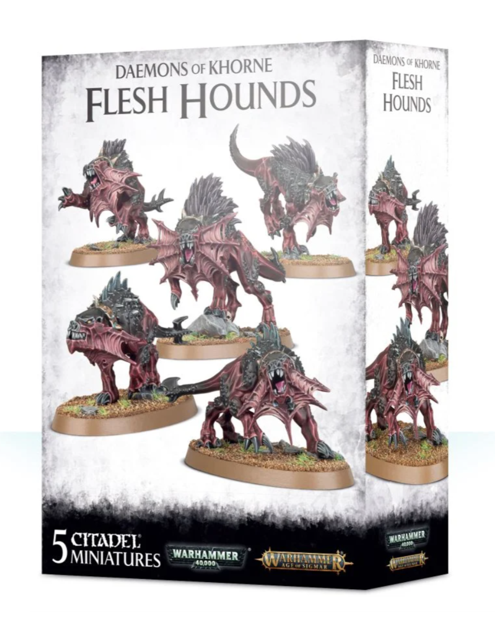 Warhammer 40K Chaos: Daemons of Khorne Flesh Hounds