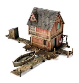 Tactical Miniature Games Lake-Town House