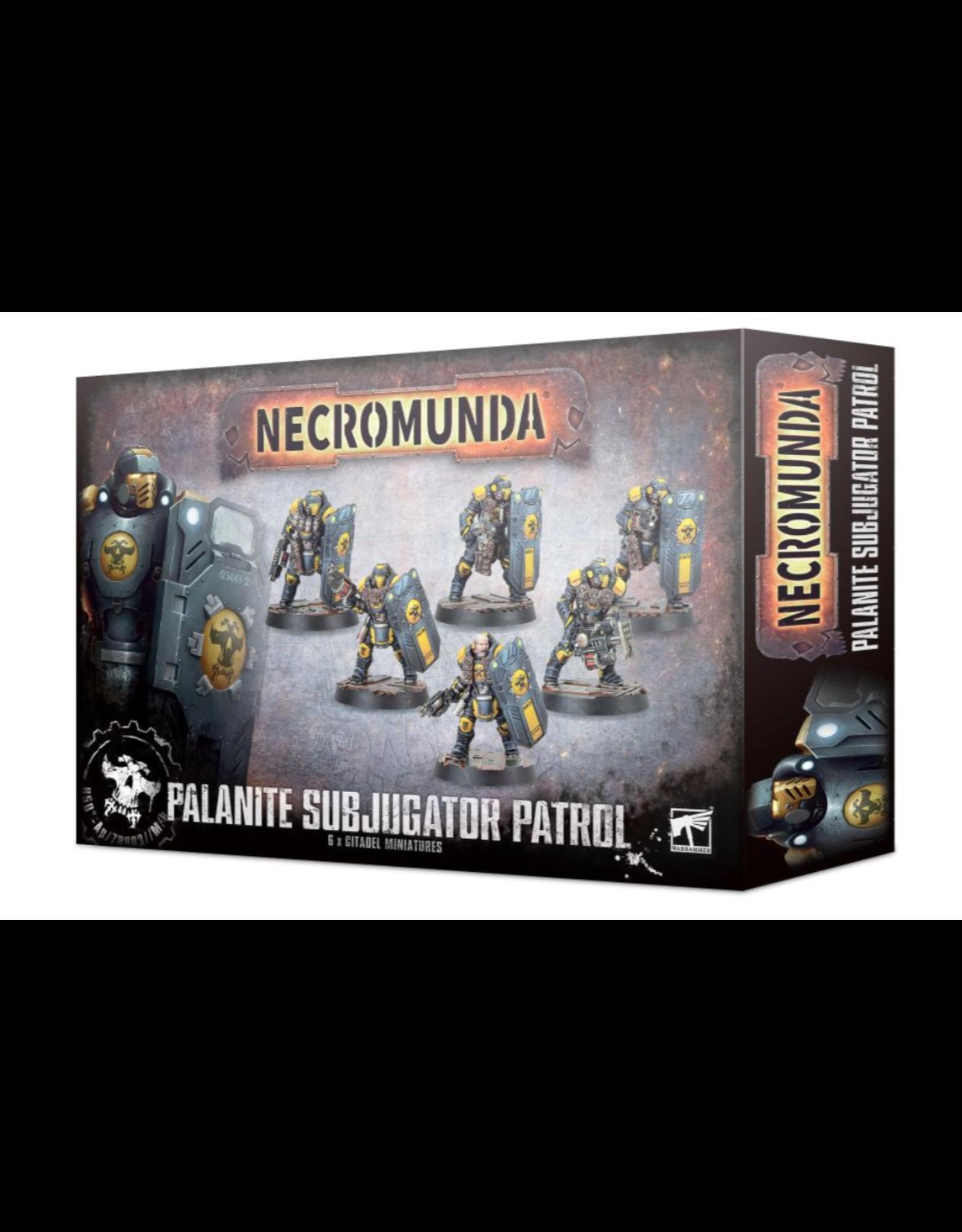 Tactical Miniature Games Necromunda: Palanite Enforcer Patrol
