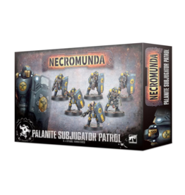 Tactical Miniature Games Necromunda: Palanite Enforcer Patrol